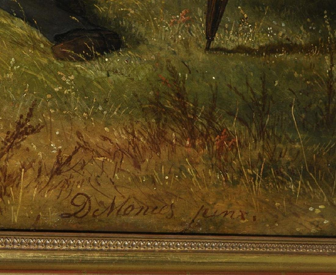 David Monies (1812-1894) Danish. 'The Picnic', A - 3