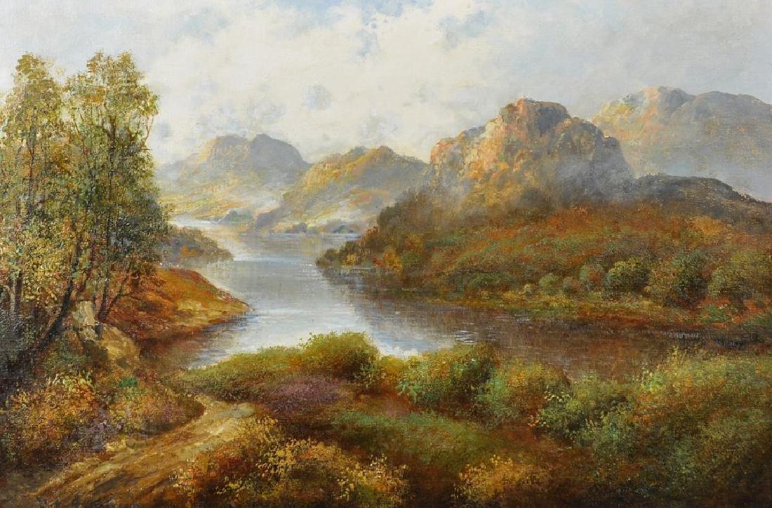 """Frank E Jamieson (1895-1950) British. """"Loch Leven"""", A"""