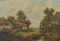Octavius Thomas Clark 18501921 British Figures on a