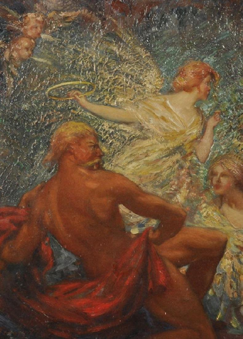 "John Milne Purvis (1881-1965) British. ""Phoebus Aroused"