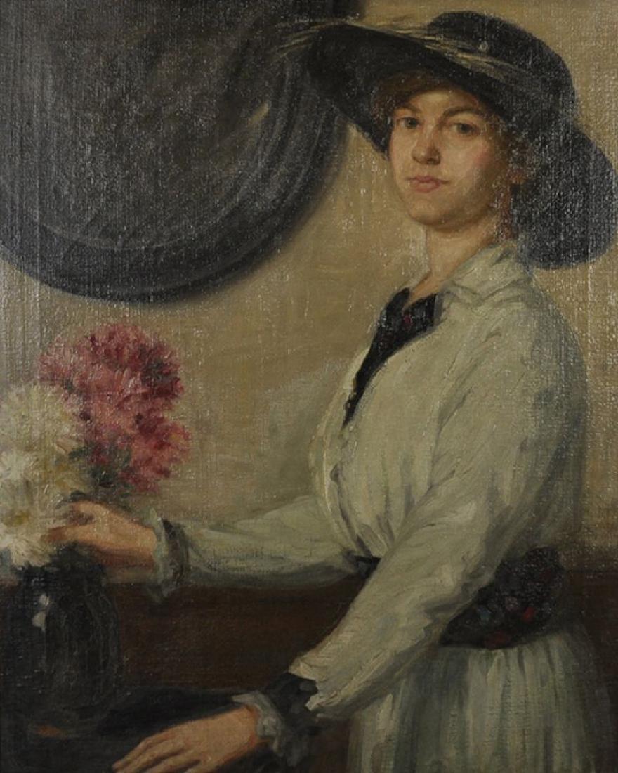 Follower of William Orpen (1878-1931) Irish. Portrait