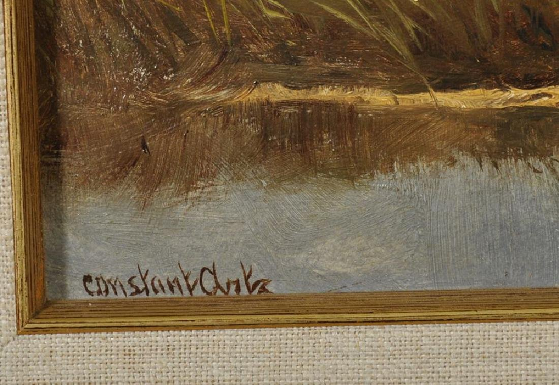 Constant David Ludovic Artz (1870-1951) British. Ducks - 3