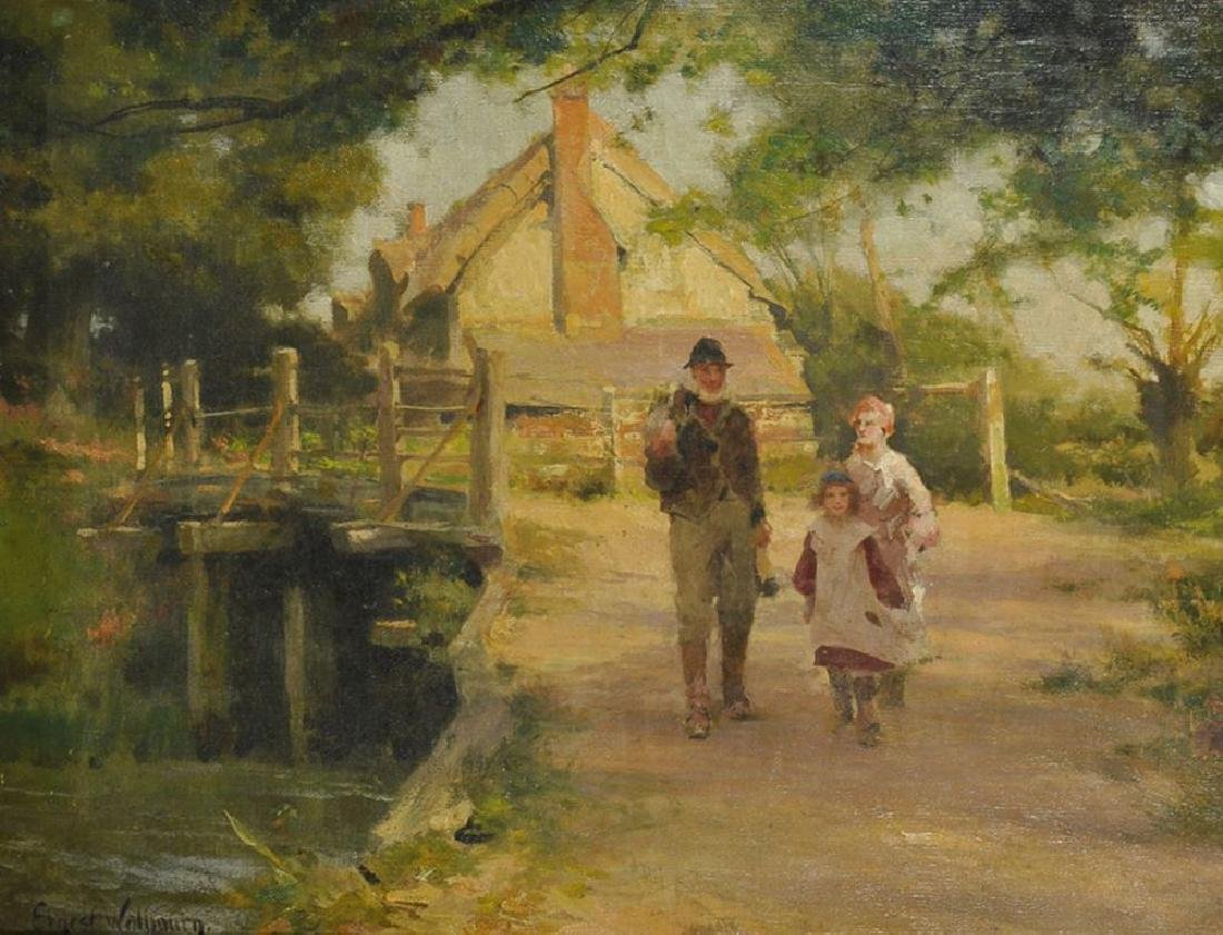 Ernest Charles Walbourn (1872-1927) British. A River
