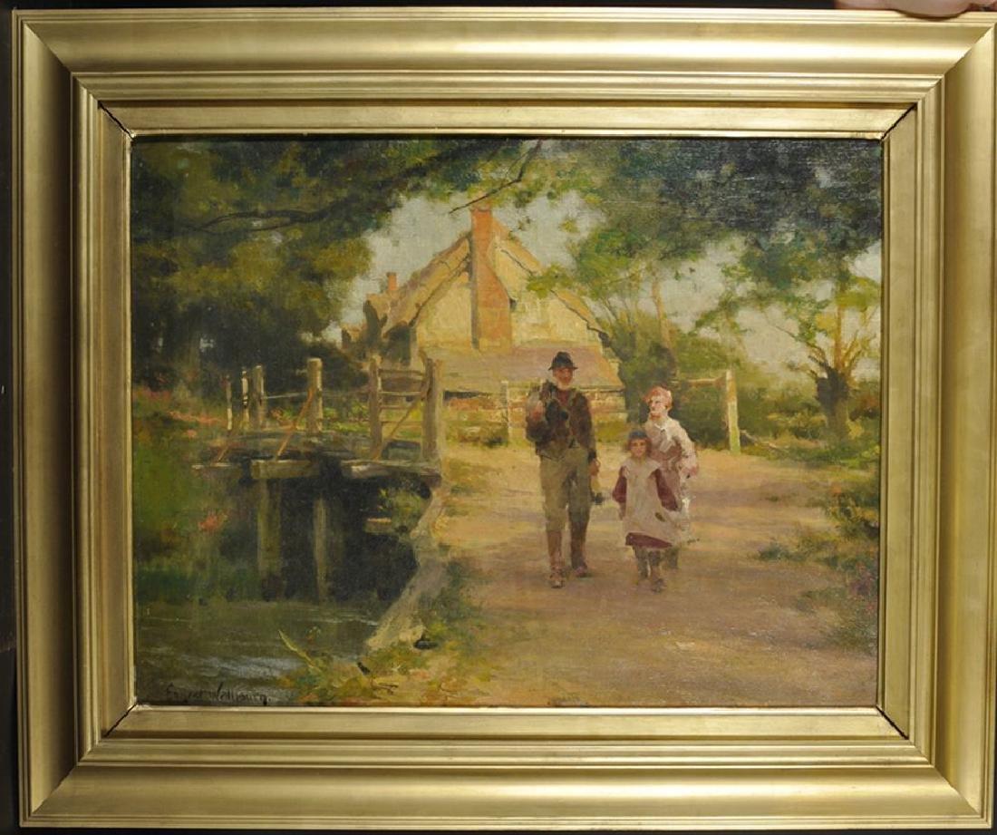Ernest Charles Walbourn (1872-1927) British. A River - 2