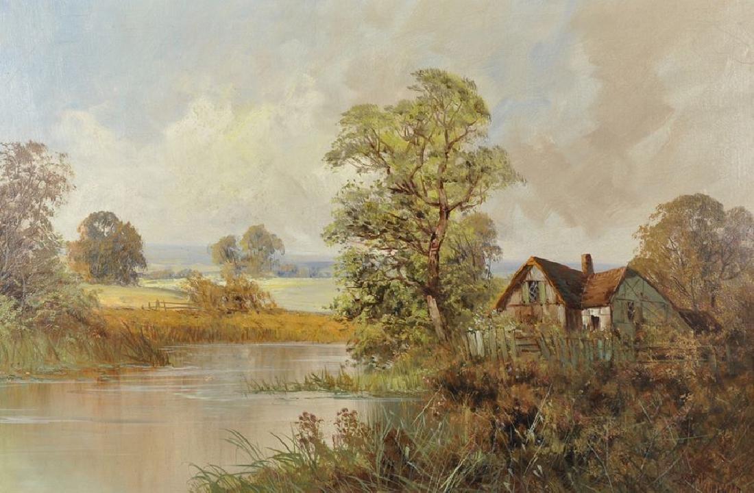 Frank E Jamieson (1895-1950) British. A River Landscape
