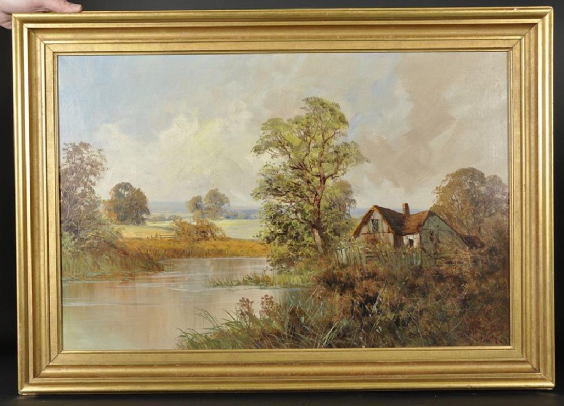 Frank E Jamieson (1895-1950) British. A River Landscape - 2