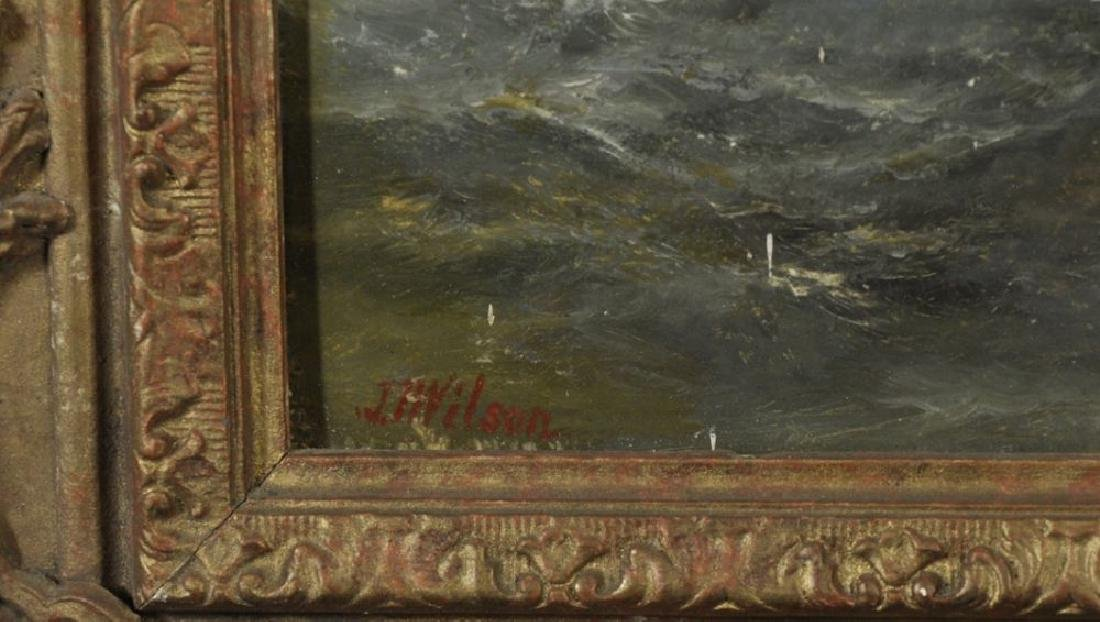 John James Wilson (1818-1875) British. A Rocky Coastal - 3