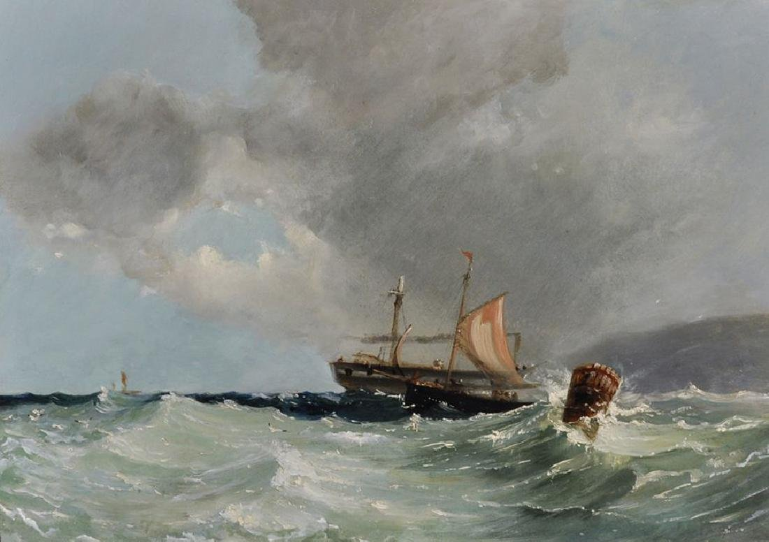 Circle of John Moore (1824-1908) British. A Seascape