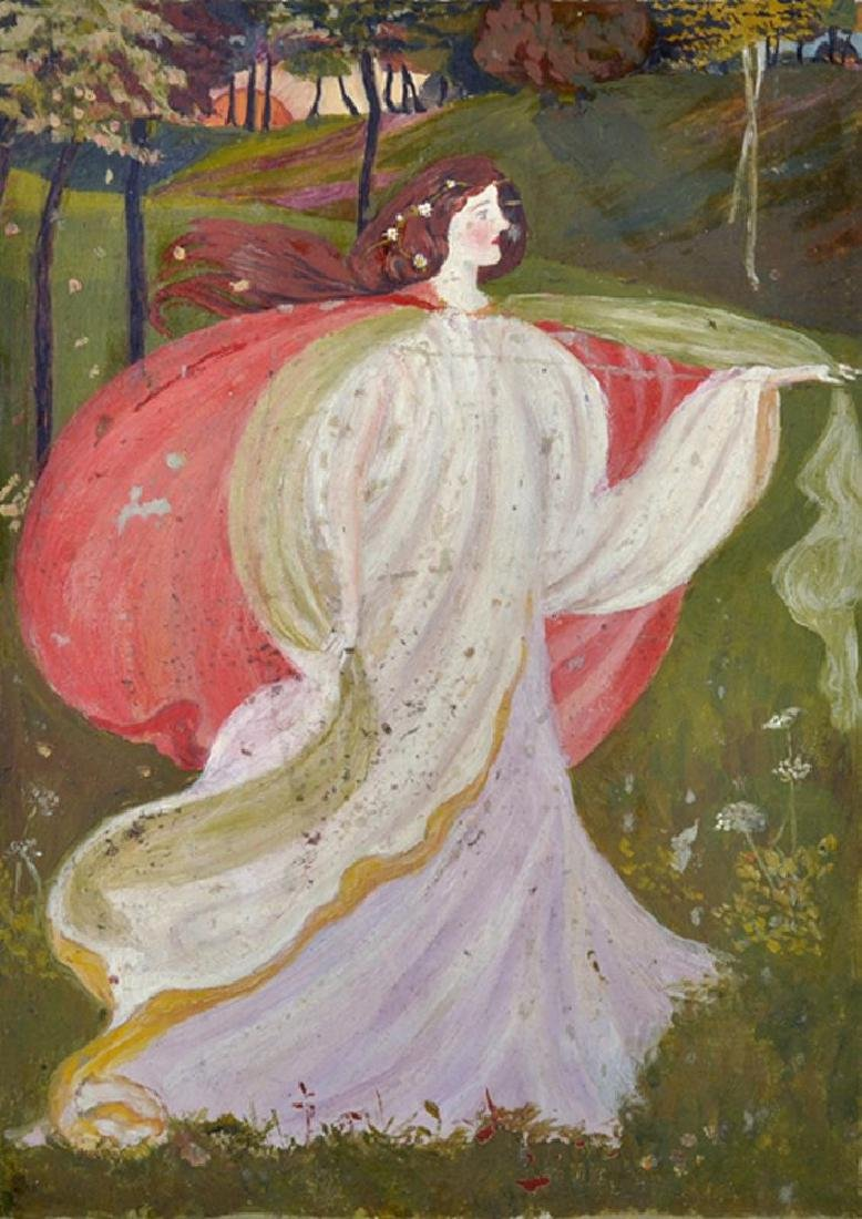 Dorothy Fitchew (20th Century) British. A Dancing Lady,