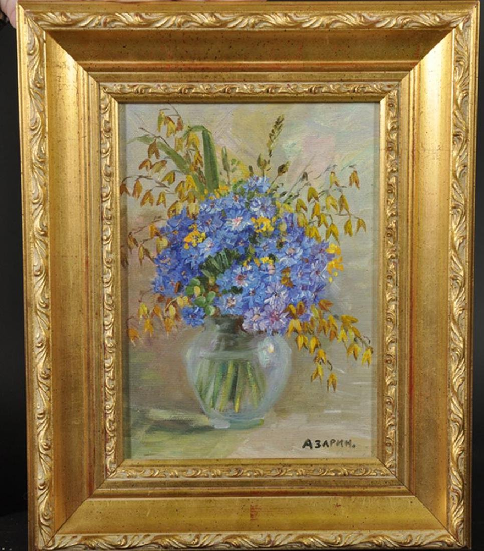 20th Century Russian School. Spring Flowers in a Glass - 4