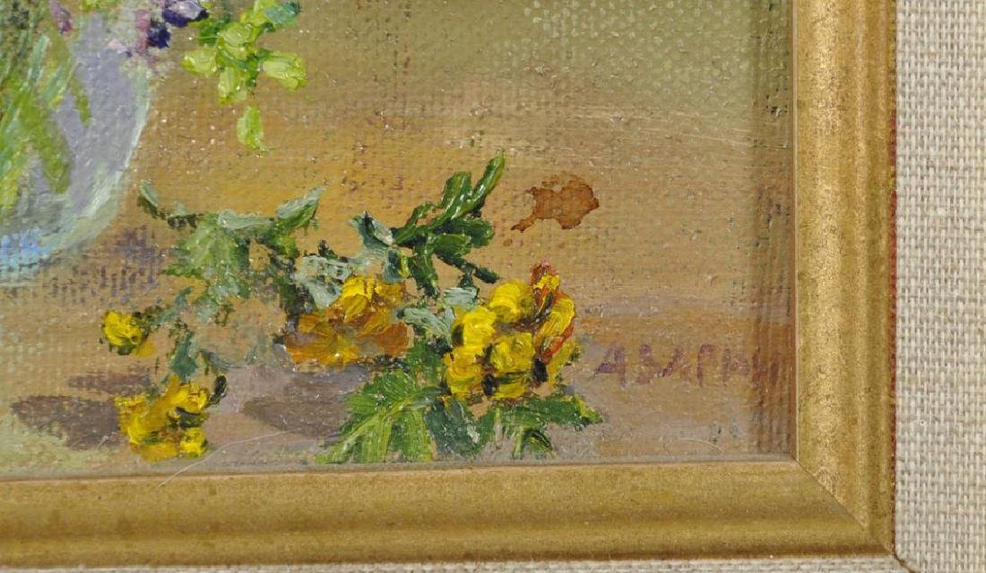 20th Century Russian School. Spring Flowers in a Glass - 5