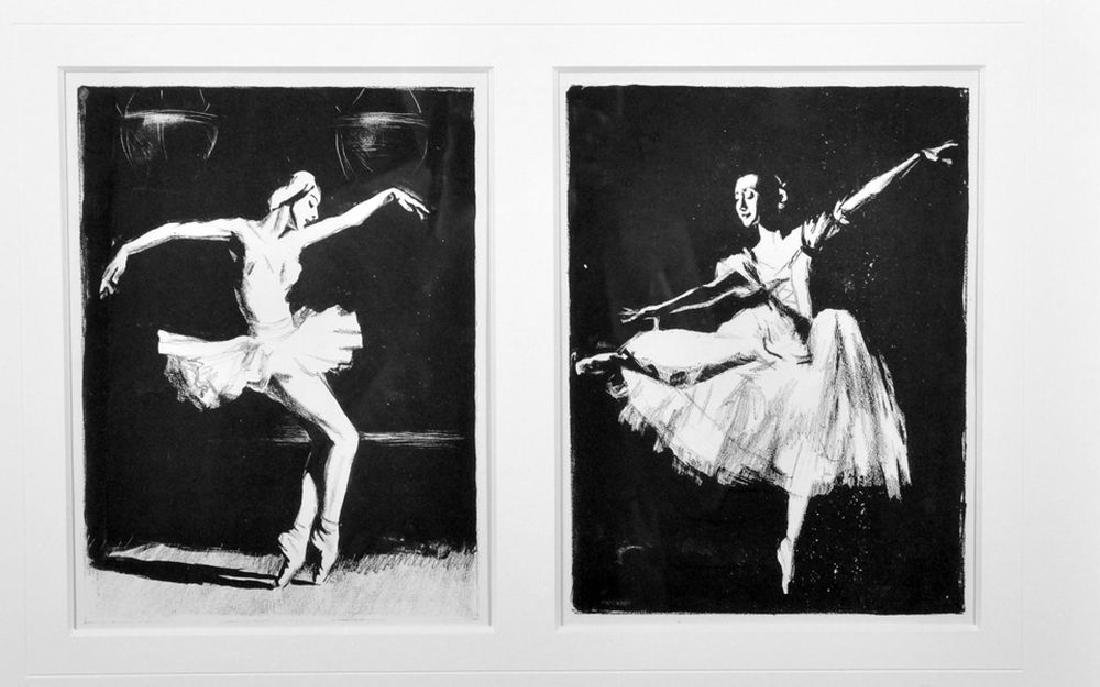 David Borisovitch Borovsky (1926-2004) Russian. Ballet