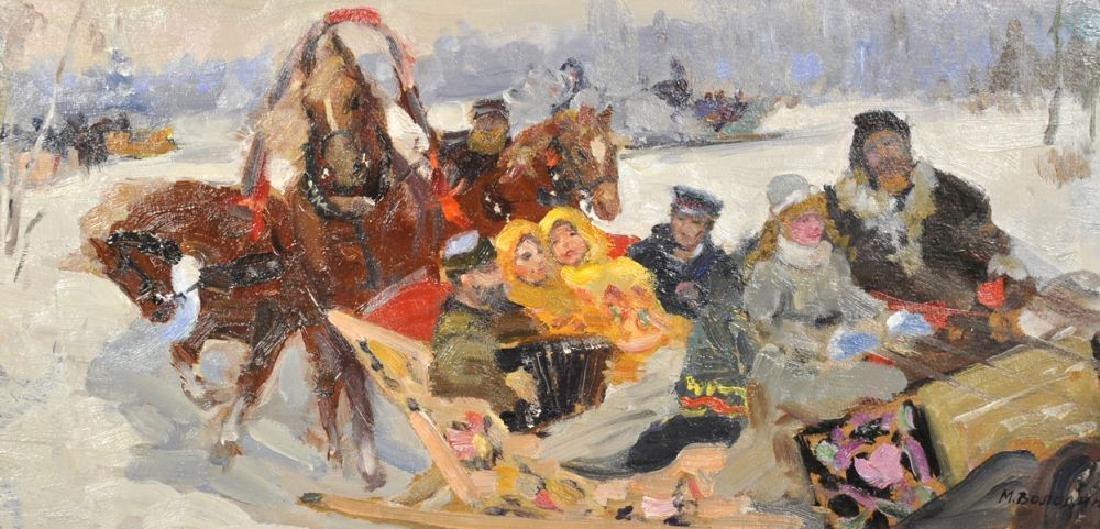 Mikhail Filippovich Volodin (1912-1987) Russian.