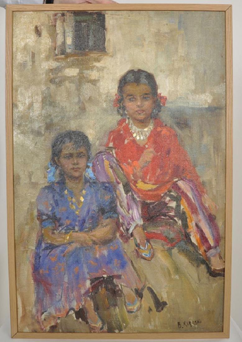 "Valentin Alievitch Kavolin (1930-1978) Russian. ""Two - 2"