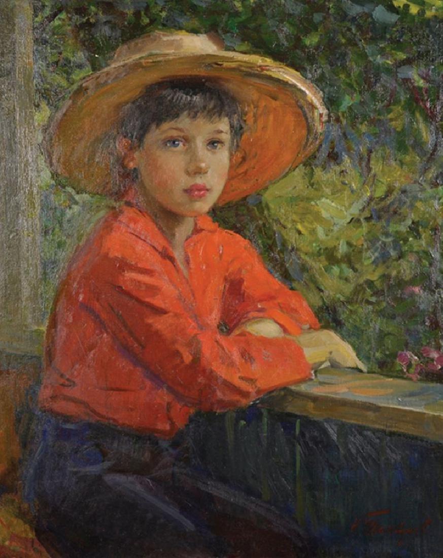 "Nikolai Pavlovich Tolkunov (1917-1996) Russian. ""Young"