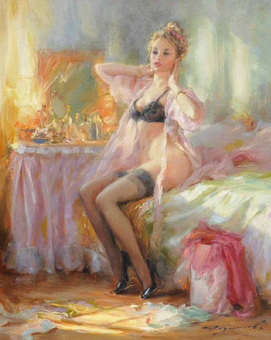 "Konstantin Razumov (1974-     ) Russian. ""Nude in the"
