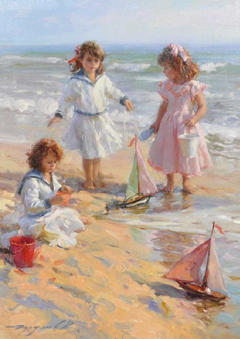 "Konstantin Razumov (1974-    ) Russian. ""Playing on the"
