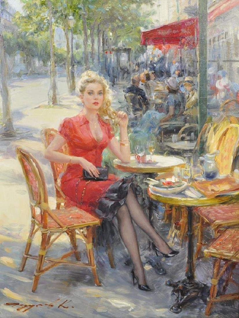 """Konstantin Razumov (1974-    ) Russian. """"A Beauty in"""