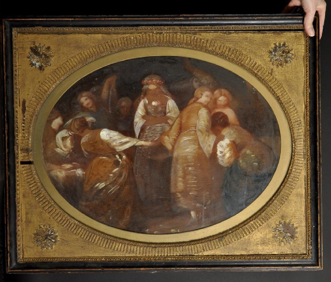 Late 18th Century English School. A Sketch of Figures - 2