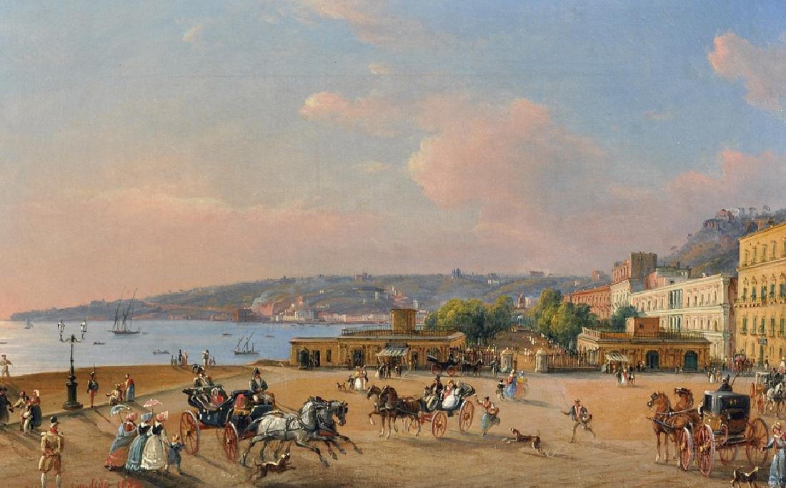 Salvatore Candido (act. 1823-1869) Italian. 'La Villa