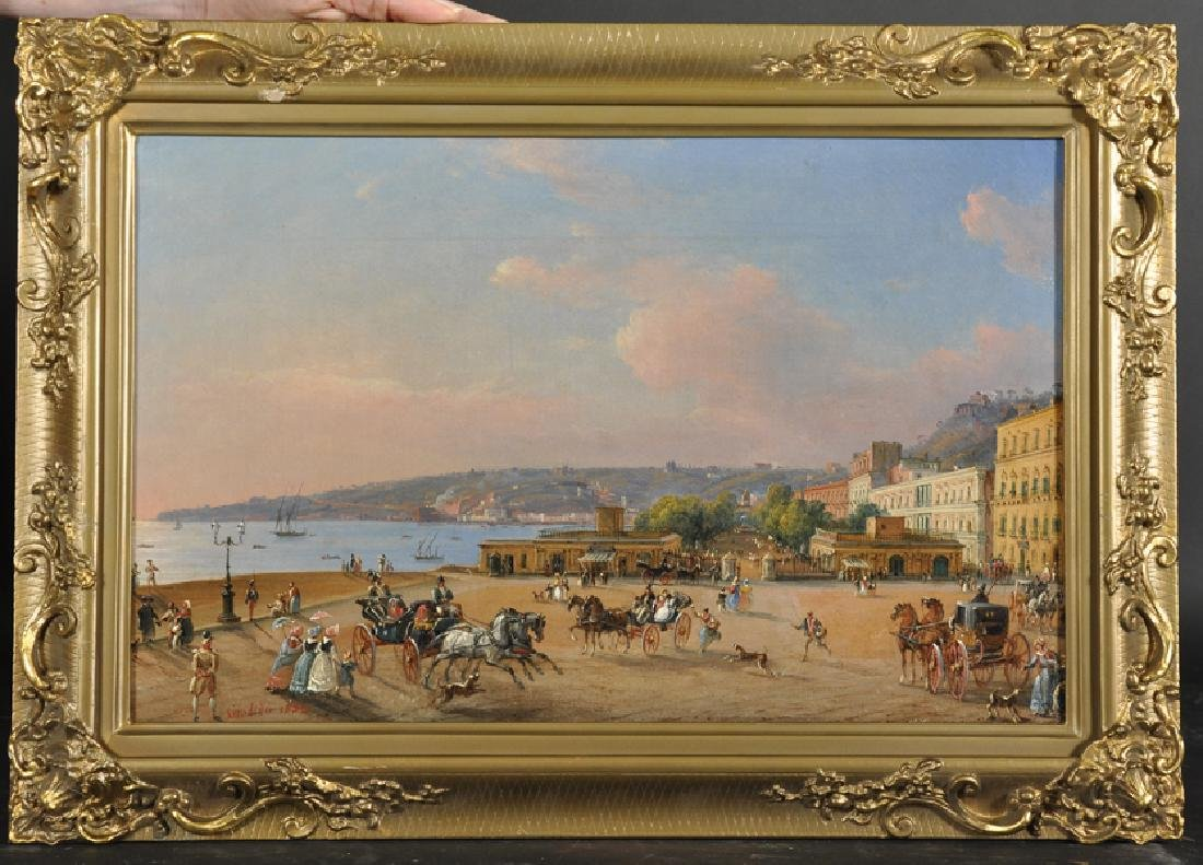 Salvatore Candido (act. 1823-1869) Italian. 'La Villa - 2