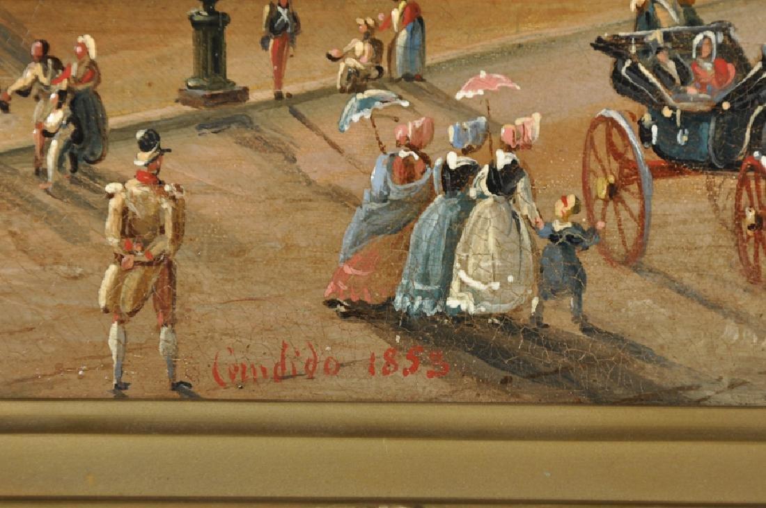Salvatore Candido (act. 1823-1869) Italian. 'La Villa - 3