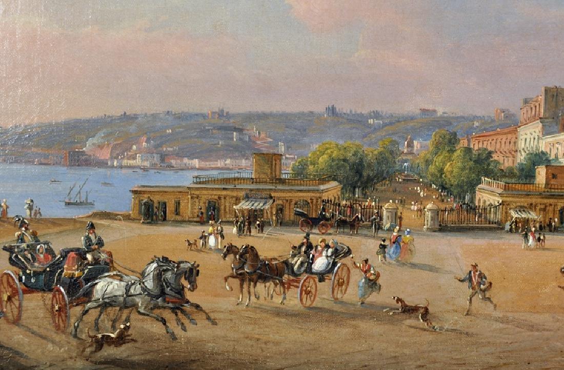 Salvatore Candido (act. 1823-1869) Italian. 'La Villa - 4