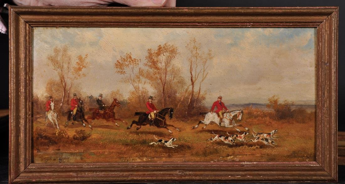 Rudolf Stone (19th - 20th Century) British. A Hunting - 6