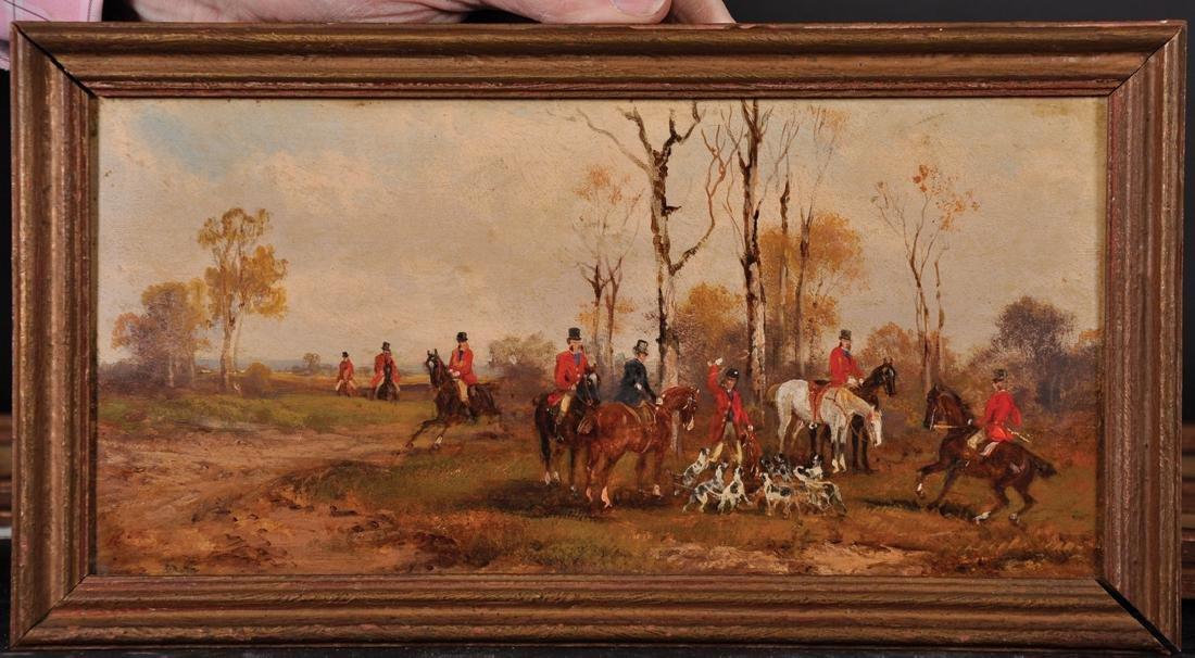 Rudolf Stone (19th - 20th Century) British. A Hunting - 8