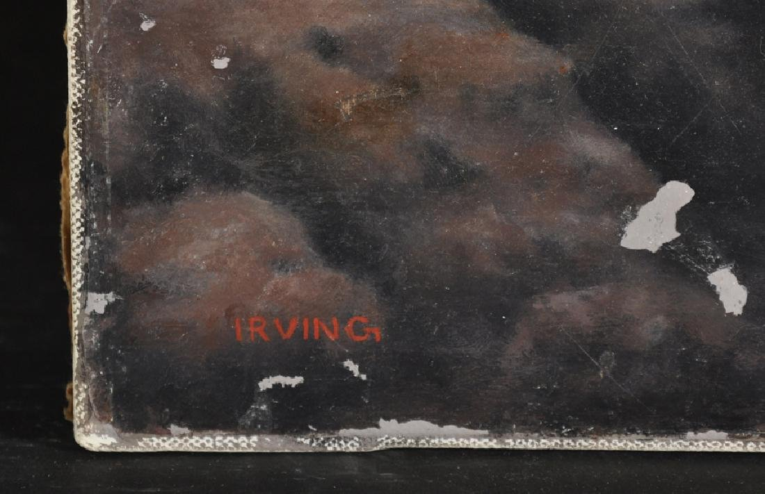 Brian Irving (1931-    ) British. A Surreal Landscape - 3