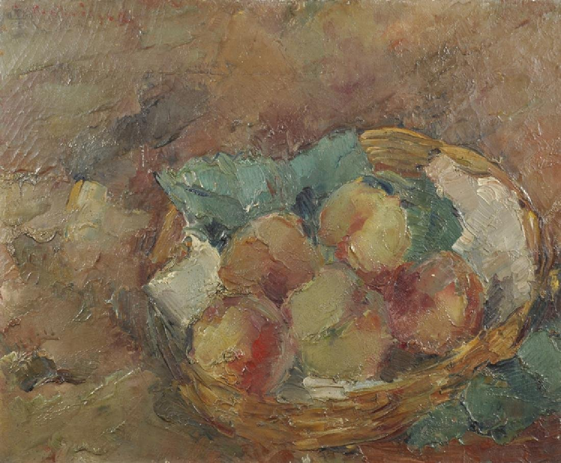 Early 20th Century French School. Still Life of Apples