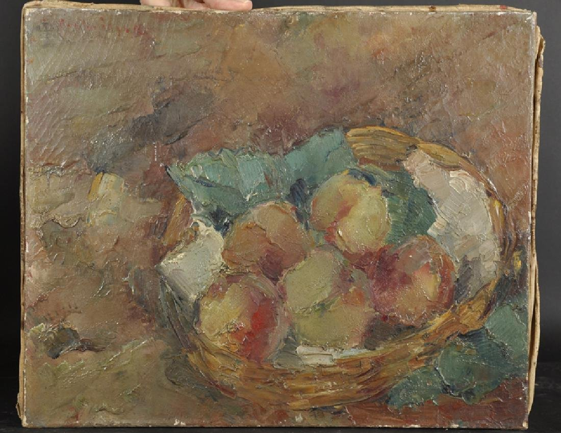 Early 20th Century French School. Still Life of Apples - 2