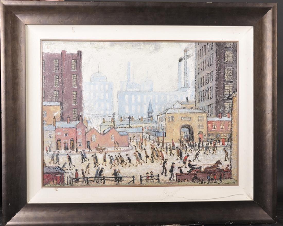 Rolf Harris (1930    ) Australian. A Street Scene in - 2