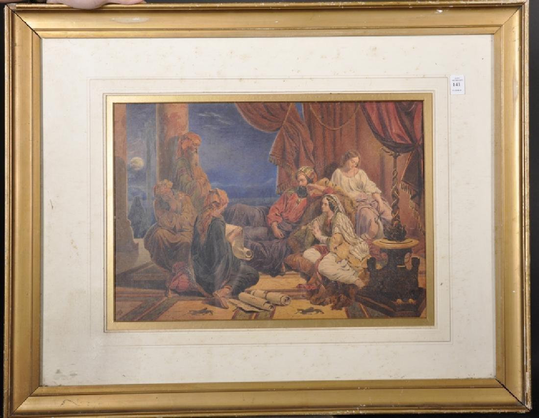 19th Century English School. A Middle Eastern Scene - 2