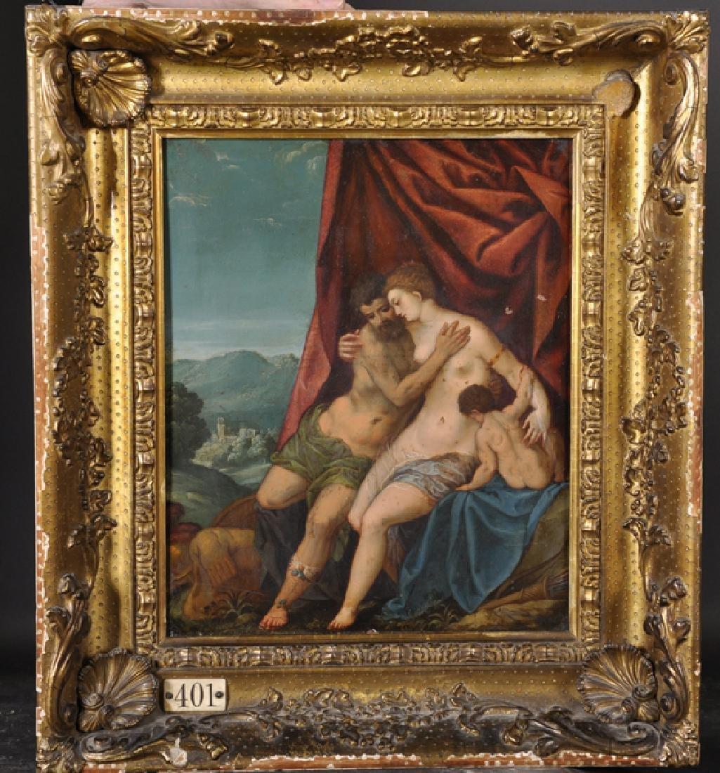 17th Century Italian School. Venus and Adonis with - 2