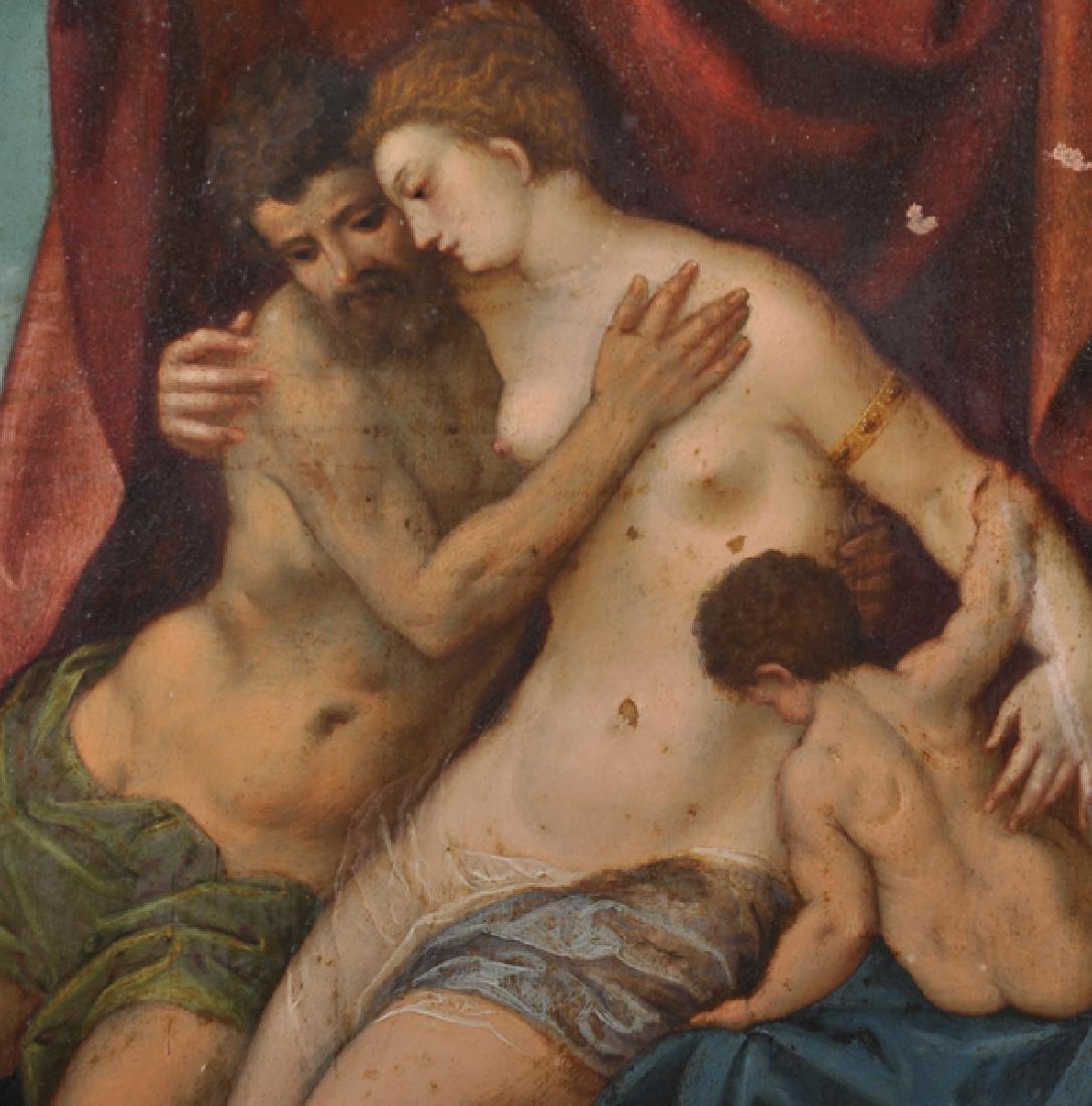 17th Century Italian School. Venus and Adonis with - 4