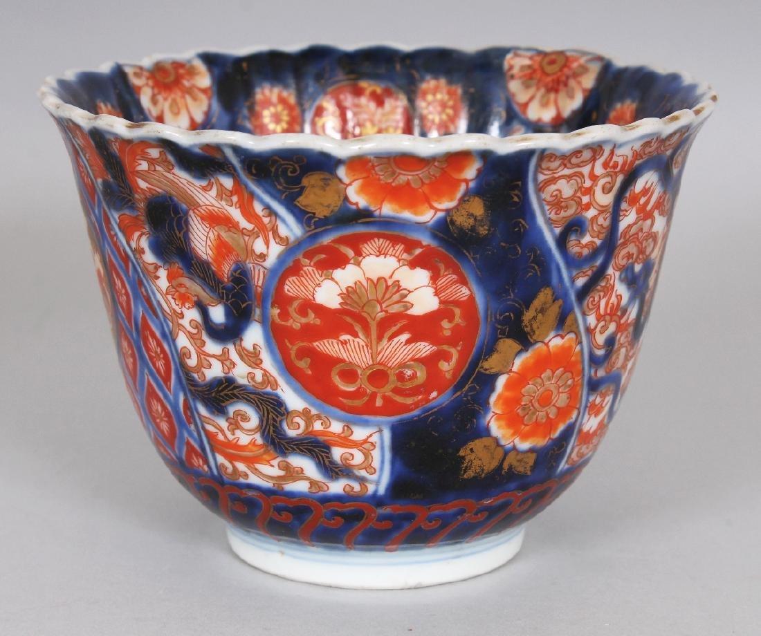 AN EARLY 20TH CENTURY JAPANESE FUKAGAWA IMARI PORCELAIN