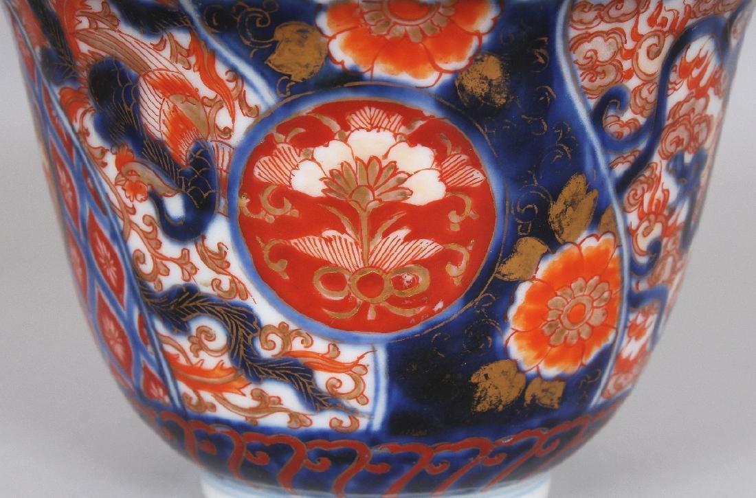 AN EARLY 20TH CENTURY JAPANESE FUKAGAWA IMARI PORCELAIN - 3
