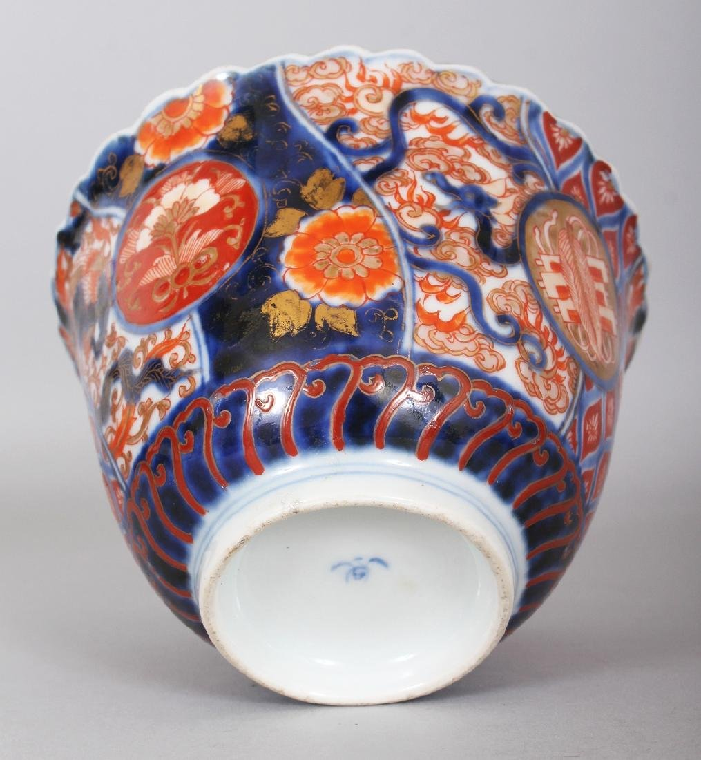 AN EARLY 20TH CENTURY JAPANESE FUKAGAWA IMARI PORCELAIN - 6