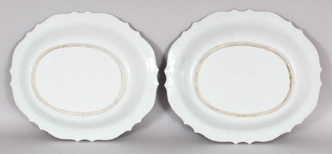 A GOOD LARGE PAIR OF CHINESE QIANLONG PERIOD CHANTILLY - 4