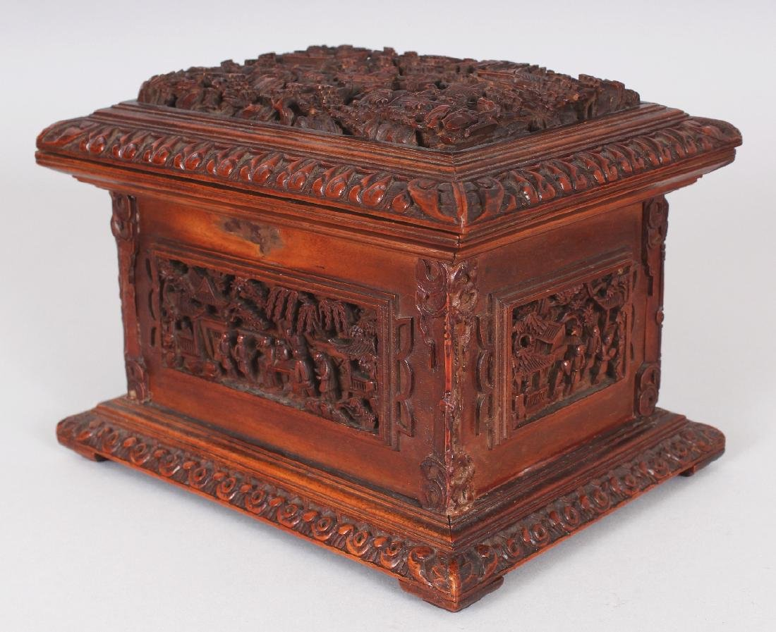 A GOOD QUALITY 19TH CENTURY CHINESE RECTANGULAR