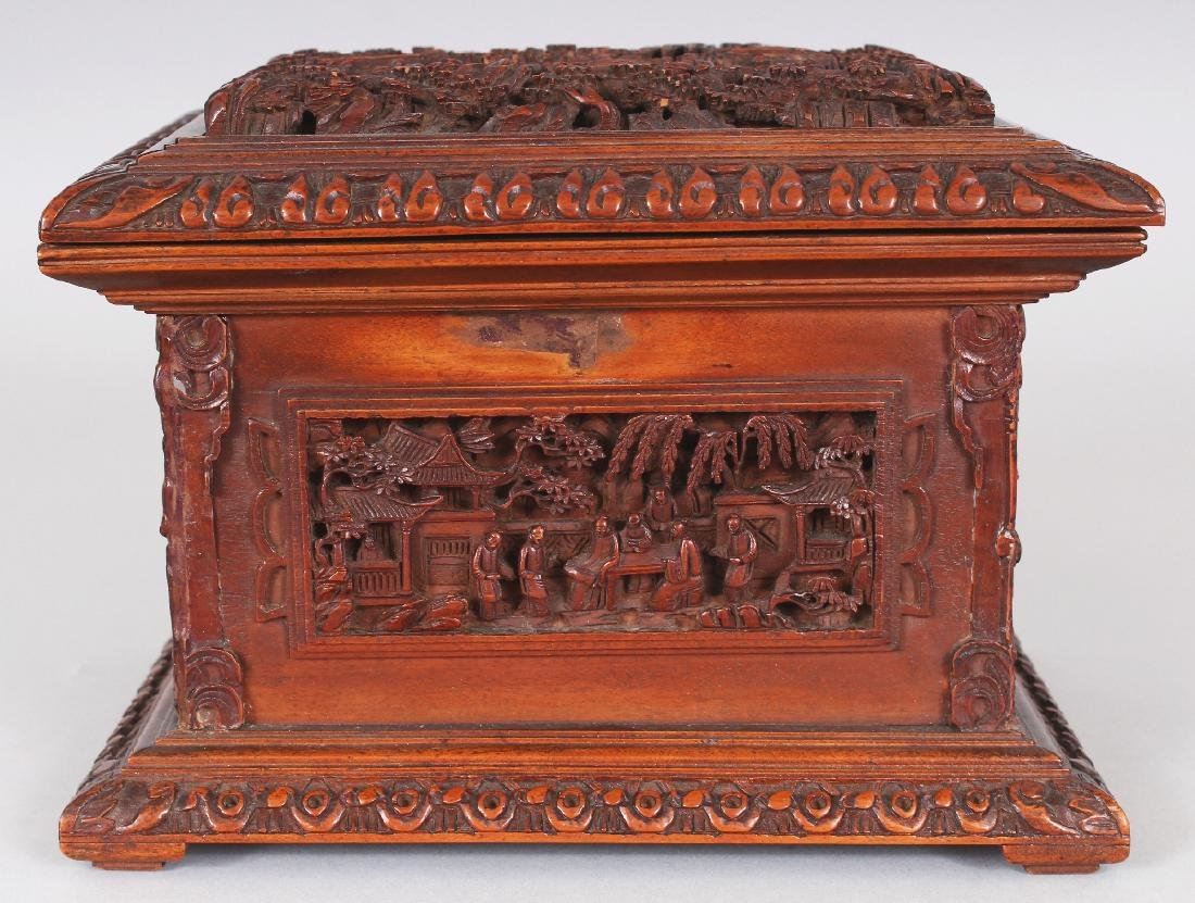 A GOOD QUALITY 19TH CENTURY CHINESE RECTANGULAR - 2