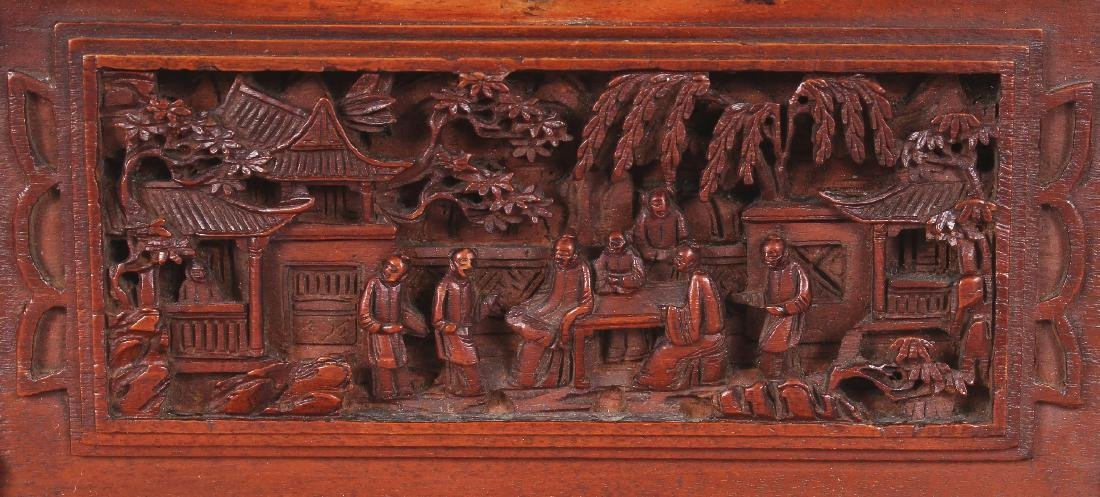 A GOOD QUALITY 19TH CENTURY CHINESE RECTANGULAR - 4