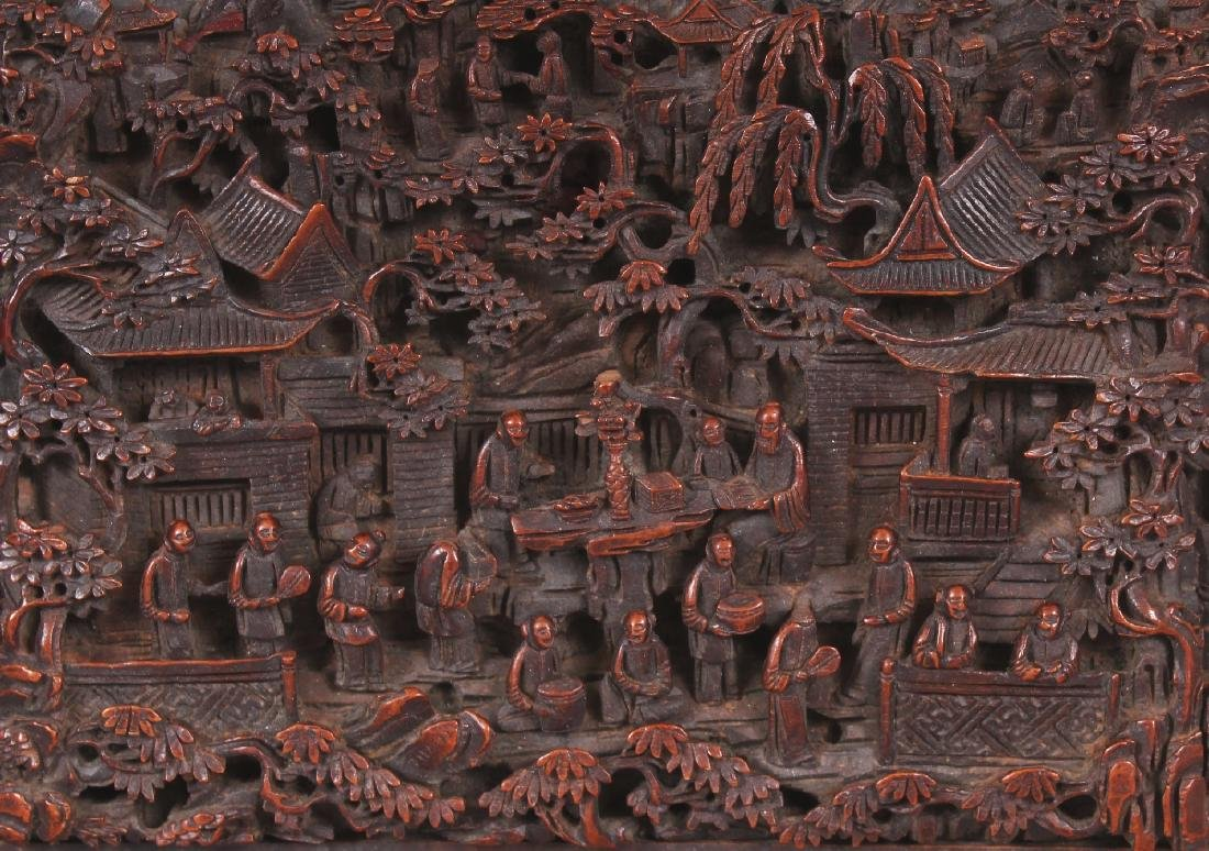 A GOOD QUALITY 19TH CENTURY CHINESE RECTANGULAR - 7