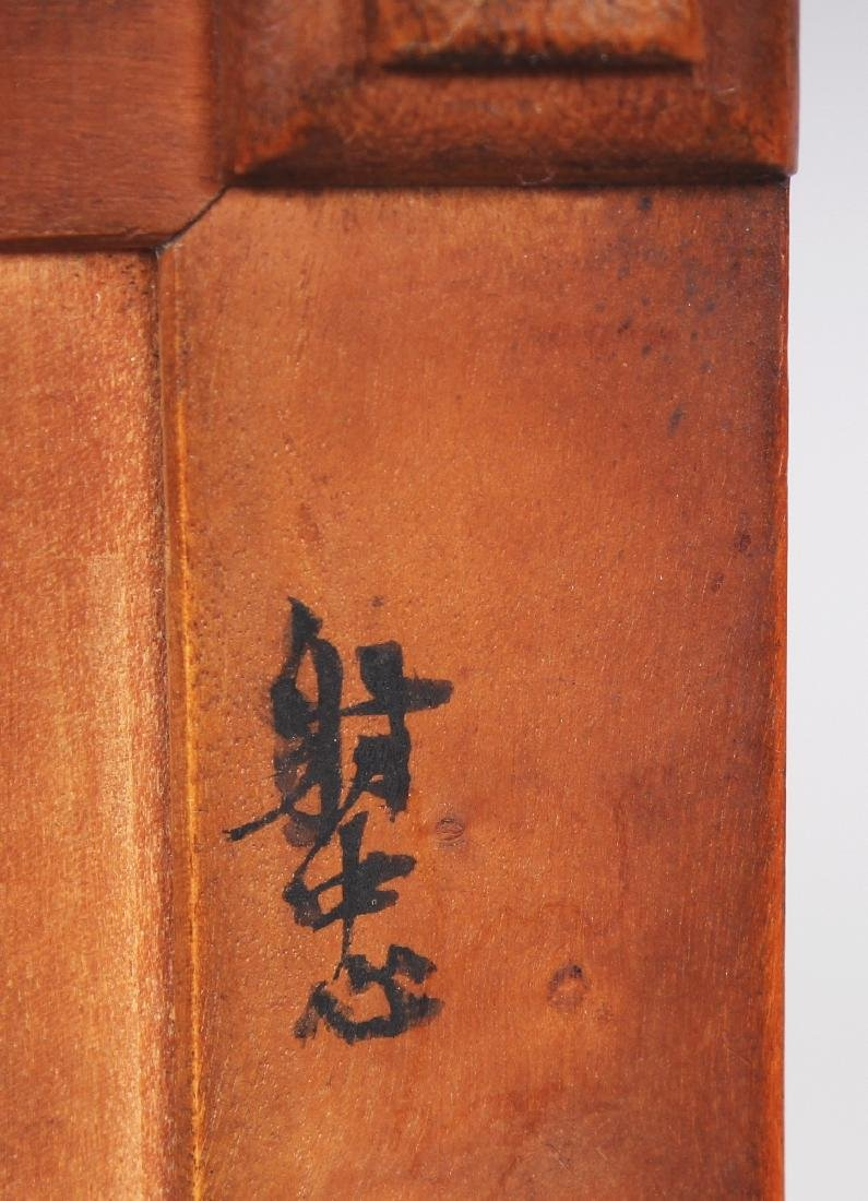A GOOD QUALITY 19TH CENTURY CHINESE RECTANGULAR - 9