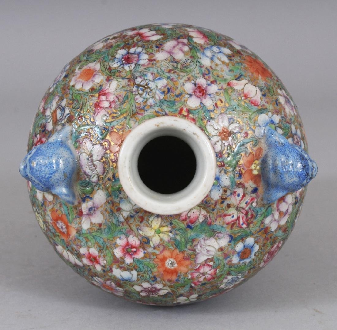 A GOOD QUALITY LATE 19TH CENTURY CHINESE MILLEFLEUR - 4