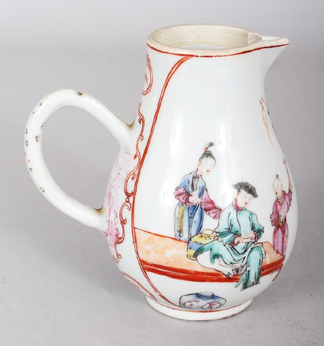 AN 18TH CENTURY CHINESE QIANLONG PERIOD FAMILLE ROSE - 2