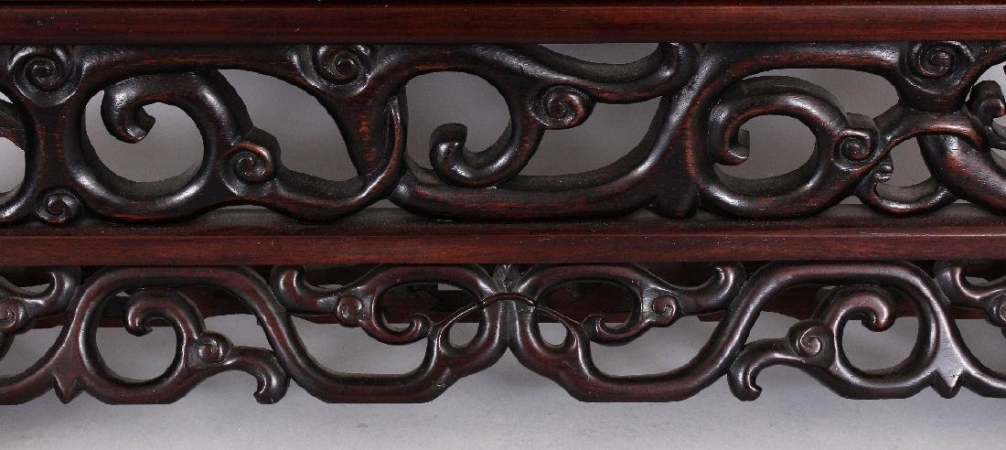 A LARGE EARLY 20TH CENTURY GOOD QUALITY HARDWOOD FRAMED - 4