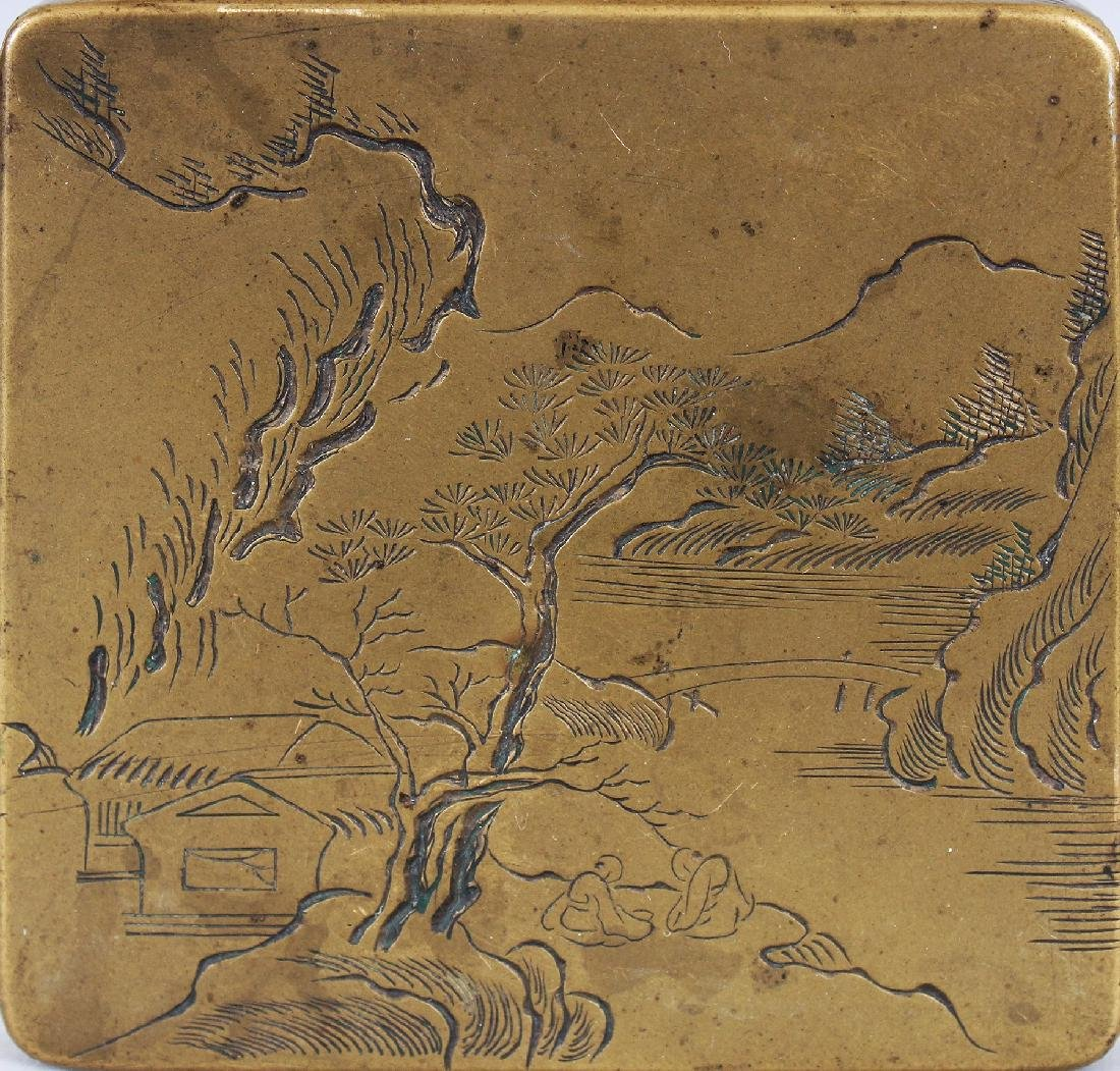 THREE SIMILAR EARLY 20TH CENTURY CHINESE SQUARE FORM - 5