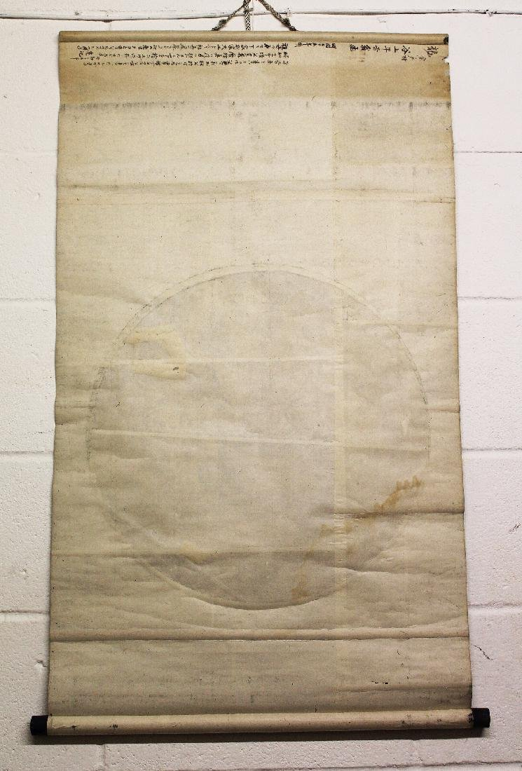 AN EARLY 20TH CENTURY JAPANESE HANGING SCROLL PAINTING - 4